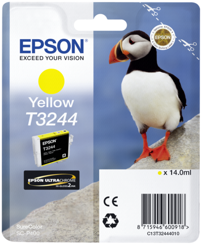 Epson Cartridge T3244 Yellow