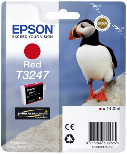 Epson Cartridge T3247 Red