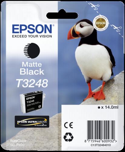 Epson Cartridge T3248 Matte Black