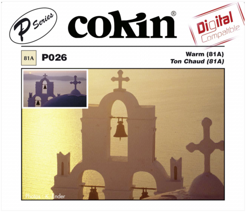 Cokin P026 81A Color Conversion Resin Filter