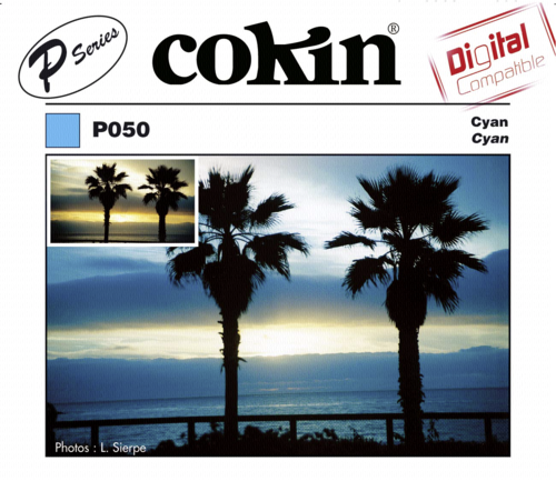 Cokin A050 Cyan Special Color Resin Filter