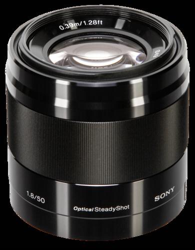 Sony E-mount 50mm f/1.8 Black