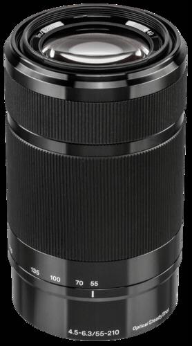 Sony E-Mount 55-210mm f/4.5-6.3 Black