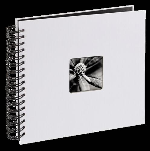 Hama Fine Art Spiral Light Grey 28x24 - 50 black pages