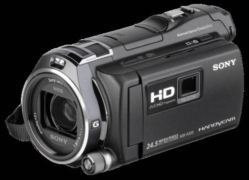 Sony HDR-PJ 810E Black