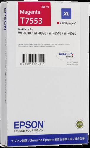Epson Cartridge T7553 Magenta XL