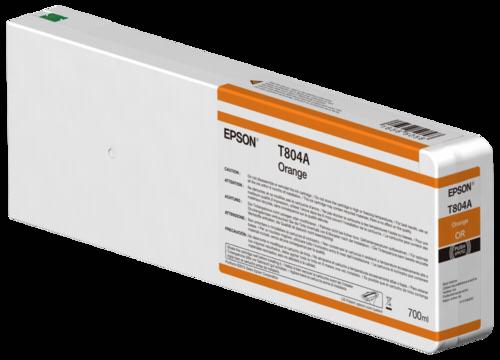 Epson Cartridge T804A UltraChrome HDX Orange