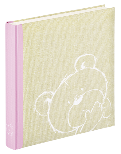 Walther Dreamtime Pink Baby Book - 50 pages