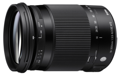 Sigma 18-300mm f/3.5-6.3 DC AF OS HSM Macro Canon