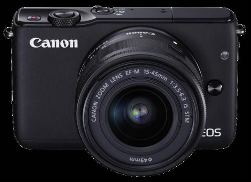 Canon EOS M10 Black Kit 15-45mm + ΔΩΡΟ Leather Body Jacket