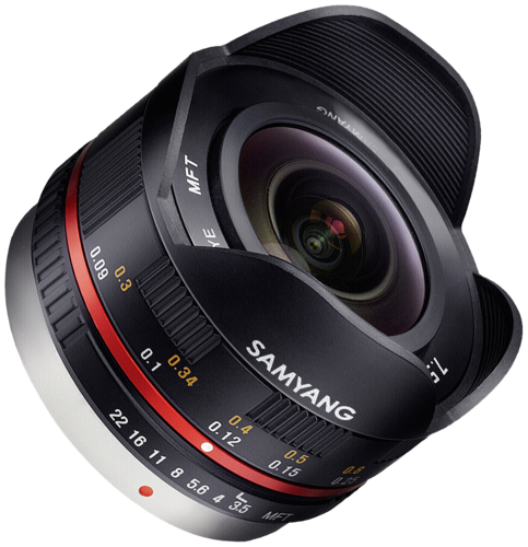 Samyang 7.5mm f/3.5 MFT Black