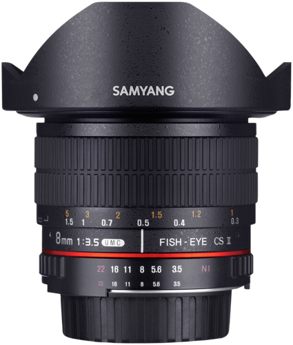 Samyang 8mm f/3.5 UMC Fisheye CS II Nikon