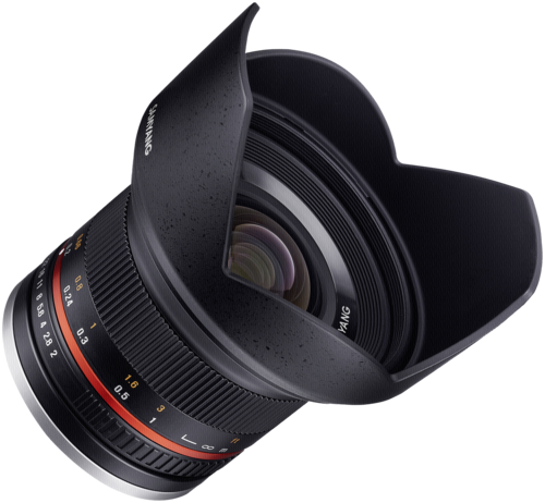 Samyang 12mm f/2.0 Canon M Black