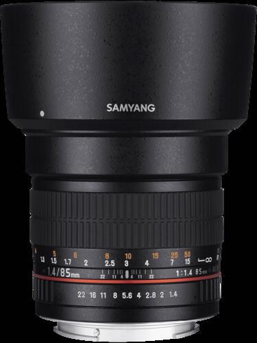 Samyang 85mm f/1.4 AE IF MC Aspherical Nikon
