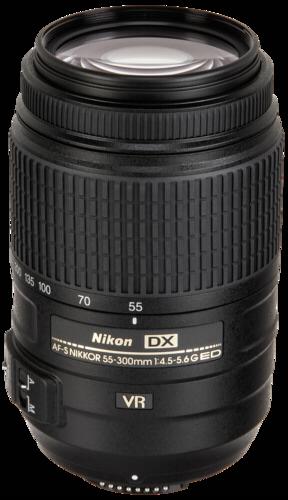 Nikon AF-S 55-300mm f/4.5-5.6G DX ED VR