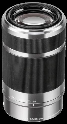 Sony E-Mount 55-210mm f/4.5-6.3 Silver