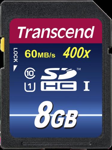 Transcend SDHC 8GB Class 10 400x UHS-I