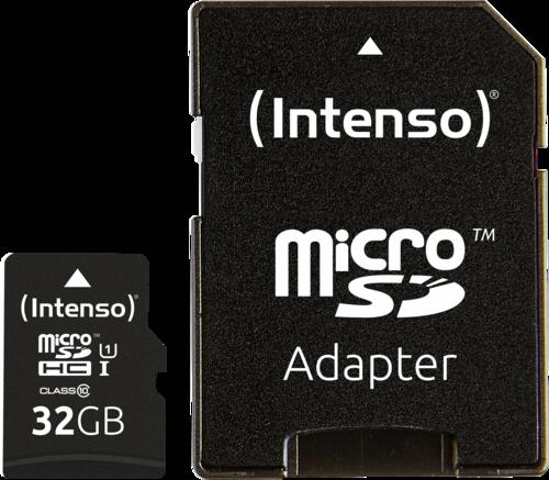 Intenso microSDHC 32GB Premium + Adapter