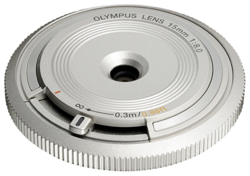 Olympus BCL-1580 Body Cap Lens Silver