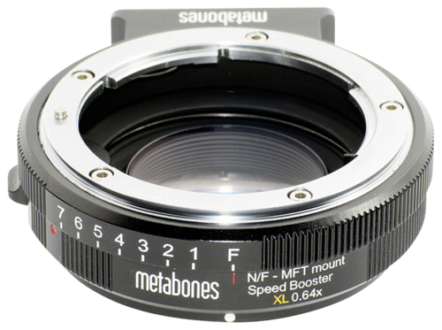 Metabones Speed Booster XL Nikon G to MFT