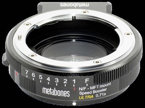 Metabones Speed Booster ULTRA Nikon G to MFT