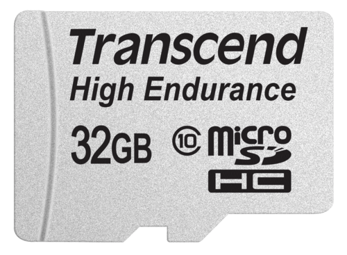 Transcend microSDHC 32GB Class 10 MLC High Endurance + Adapter