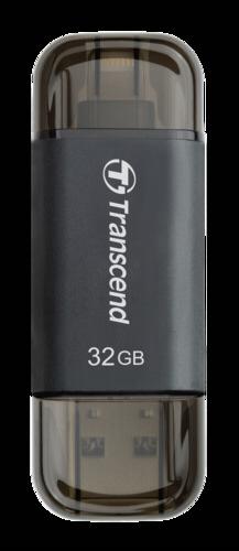 Transcend JetDrive Go 300 32GB OTG Lightning + USB 3.1 Gen1 Black