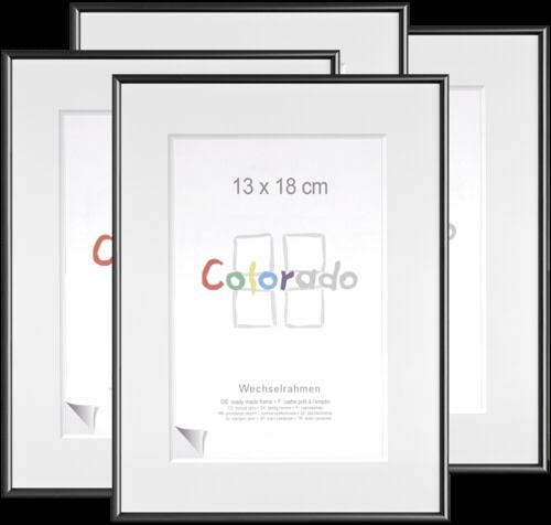 Nielsen Accent Colorado Uni 13x18cm Plastic Frame Black 1x4