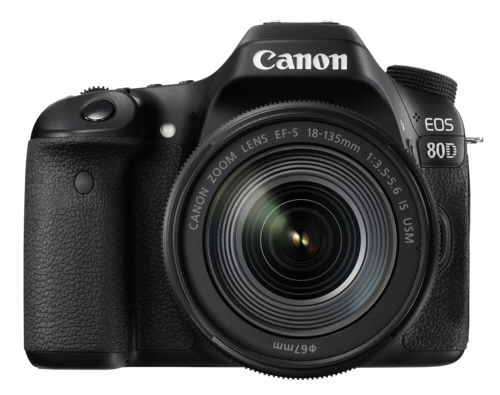 Canon EOS 80D Kit EF-S 18-135mm IS Nano USM