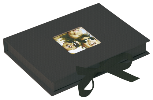 Walther Photo Fun Gift box black 13x18 - 70 photos