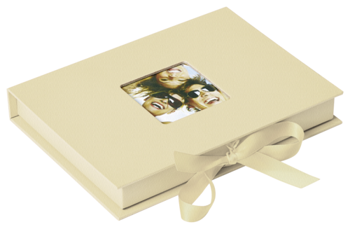 Walther Photo Fun Gift box cream 13x18 - 70 photos