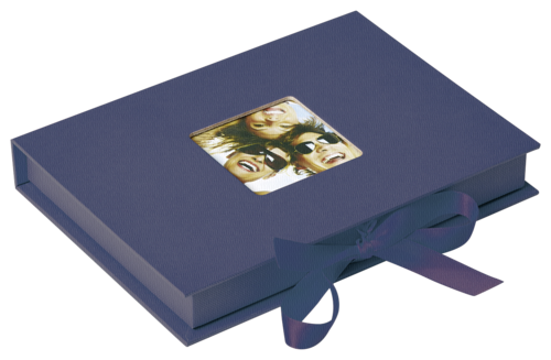 Walther Photo Fun Gift box blue 13x18 - 70 photos