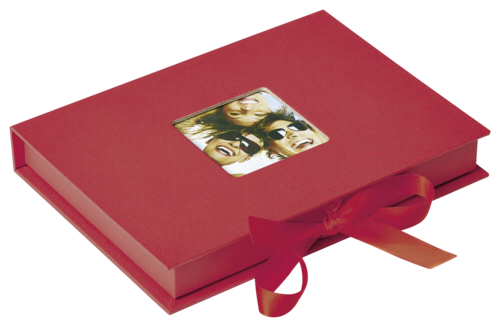 Walther Photo Fun Gift box red 13x18 - 70 photos
