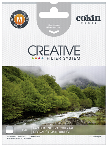 Cokin A120 Grey Graduated G1 Resin Filter