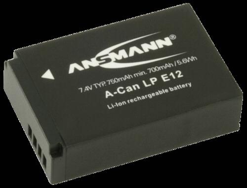 Ansmann Canon LP-E12 750mAh