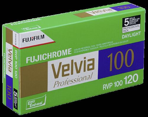 Fujifilm Velvia 100 120 1x5