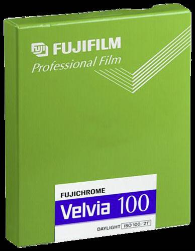Fujifilm Velvia 100 4x5 20blatt