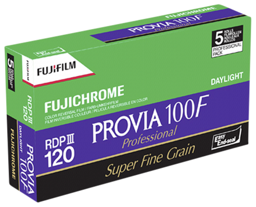 Fujifilm Provia 100F 120 1x5