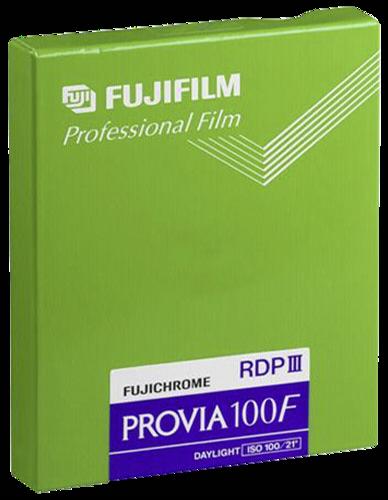 Fujifilm Provia 100F 4x5 20blatt
