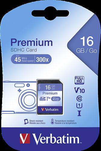 Verbatim SDHC 16GB Class 10