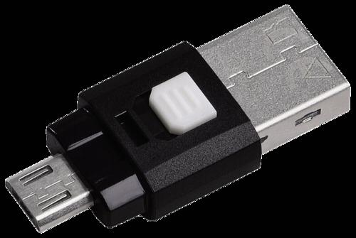 Hama OTG Card Reader Smartphone/Tablet microSD USB 2.0