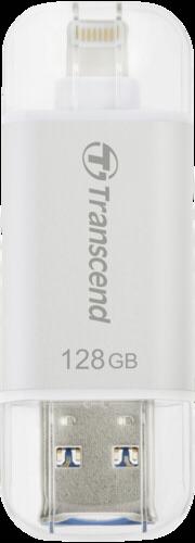Transcend JetDrive Go 300 128GB Lightning + USB 3.1 Gen1 silver