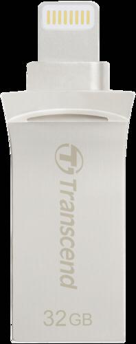 Transcend JetDrive Go 500 32GB Lightning + USB 3.1 Gen1 silver