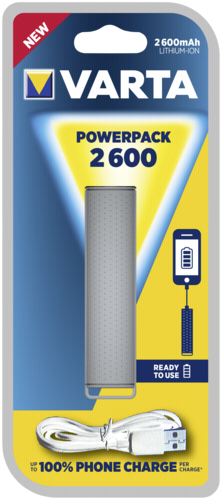 Varta Powerpack 2600mAh grey