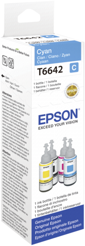 Epson Cartridge T6641 Cyan