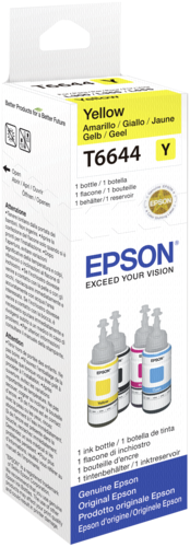Epson Cartridge T6641 Yellow