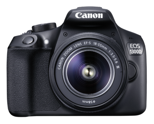 Canon EOS 1300D Kit EF-S 18-55mm DC III + Δώρο τσάντα + SD 16GB + Cleaning cloth