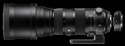Sigma 150-600mm f/5-6.3 DG AF HSM OS Canon + TC-1401