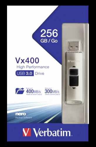 Verbatim Store n Go Vx400 256GB SSD USB 3.0
