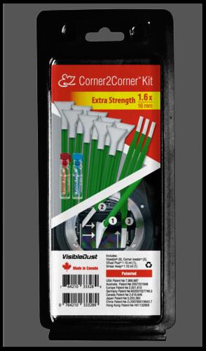 Visible Dust EZ Corner2Corner Kit 1.6x extra strength